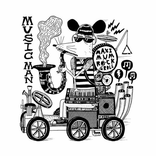 Affiche Maximum Rock'n'Roll